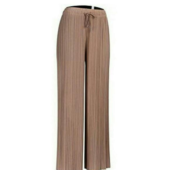 Pants - NWOT Accordian Pleated Wide Leg Pants